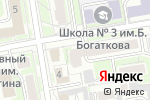 Схема проезда до компании СибСвет в Новосибирске