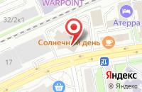 Схема проезда до компании Бастион в Новосибирске