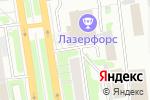 Схема проезда до компании Райский сад в Новосибирске