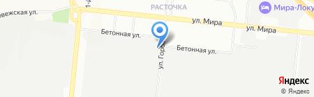 Теплый Мир на карте Новосибирска