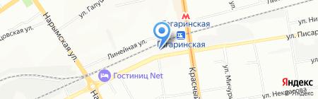 ШКОЛА ФУТБОЛА на карте Новосибирска