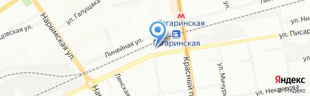 KOSMODROM на карте Новосибирска