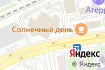 Схема проезда до компании Тройка Групп в Новосибирске
