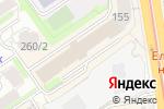 Схема проезда до компании Клубок в Новосибирске