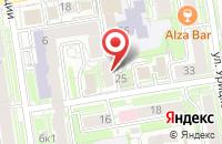 Схема проезда до компании Келинс в Новосибирске