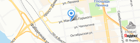 Сибирские фасады на карте Новосибирска