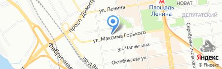 Элекснет-Новосибирск на карте Новосибирска
