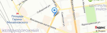 САВ-недвижимость на карте Новосибирска