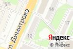 Схема проезда до компании Клевое место в Новосибирске