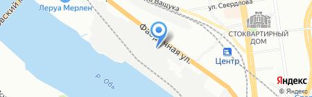 Сибирские Закрома на карте Новосибирска