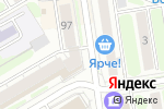 Схема проезда до компании ФУТУРИСАРТ в Новосибирске