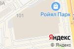Схема проезда до компании Мегас в Новосибирске