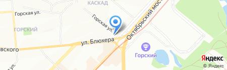 Эко-Индекс на карте Новосибирска