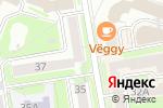 Схема проезда до компании Vanilla Sky в Новосибирске