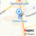 Glance на карте Новосибирска