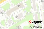 Схема проезда до компании Невромед в Новосибирске