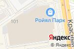 Схема проезда до компании Sugarelle в Новосибирске