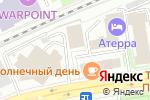 Схема проезда до компании ПрофРесурс в Новосибирске