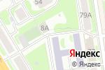 Схема проезда до компании acesport.ru в Новосибирске