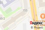 Схема проезда до компании Сабай в Новосибирске
