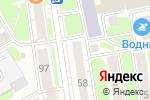 Схема проезда до компании HOT DOG в Новосибирске