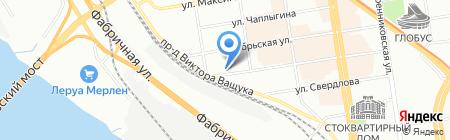 Эндомедика на карте Новосибирска
