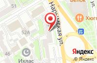 Схема проезда до компании Солнечный в Новосибирске