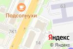 Схема проезда до компании Сибмост в Новосибирске