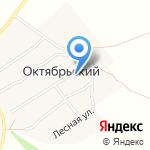 Сельский клуб на карте Октябрьского