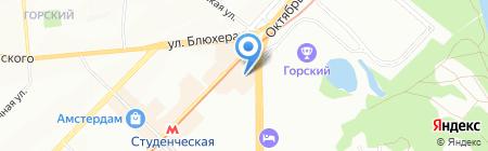 Пневмакс на карте Новосибирска