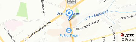 Стилиссимо на карте Новосибирска