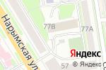 Схема проезда до компании Сибирский центр экспертов антикризисного управления в Новосибирске