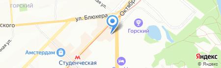 ПК-Сервис на карте Новосибирска
