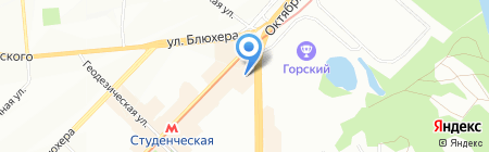 Король-Артур на карте Новосибирска