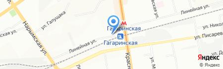 ПластКомфорт на карте Новосибирска