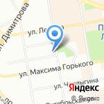 Фонд имущества Новосибирской области на карте Новосибирска