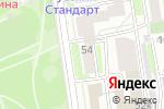 Схема проезда до компании Арт-клумба в Новосибирске