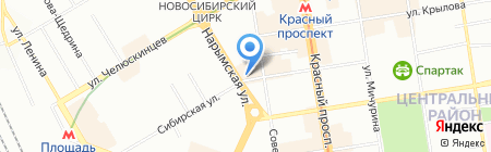 MaVie на карте Новосибирска