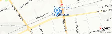 Демиург на карте Новосибирска