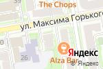 Схема проезда до компании ВИТА-МЕД в Новосибирске