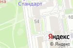 Схема проезда до компании СДЭК в Новосибирске