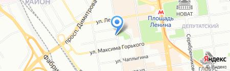 НОВОСИБИРСКМОЛОКО на карте Новосибирска