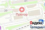 Схема проезда до компании Розничная компания плитки в Новосибирске