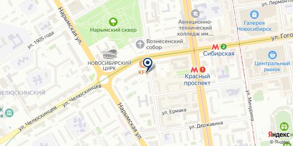 ЖЭУ №11 на карте Новосибирске