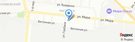 Детский сад №317 Совушка на карте Новосибирска