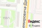 Схема проезда до компании Provans в Новосибирске