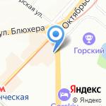 Ришес на карте Новосибирска