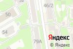 Схема проезда до компании Альянс-фурнитура в Новосибирске
