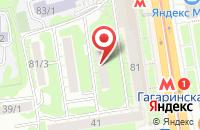 Схема проезда до компании Технология в Новосибирске