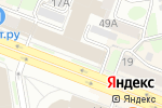 Схема проезда до компании Агентство правовых услуг в Новосибирске